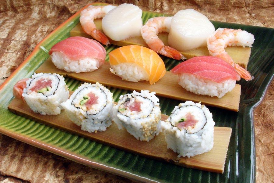 Sushi & Sashimi Sugar Cane Planks