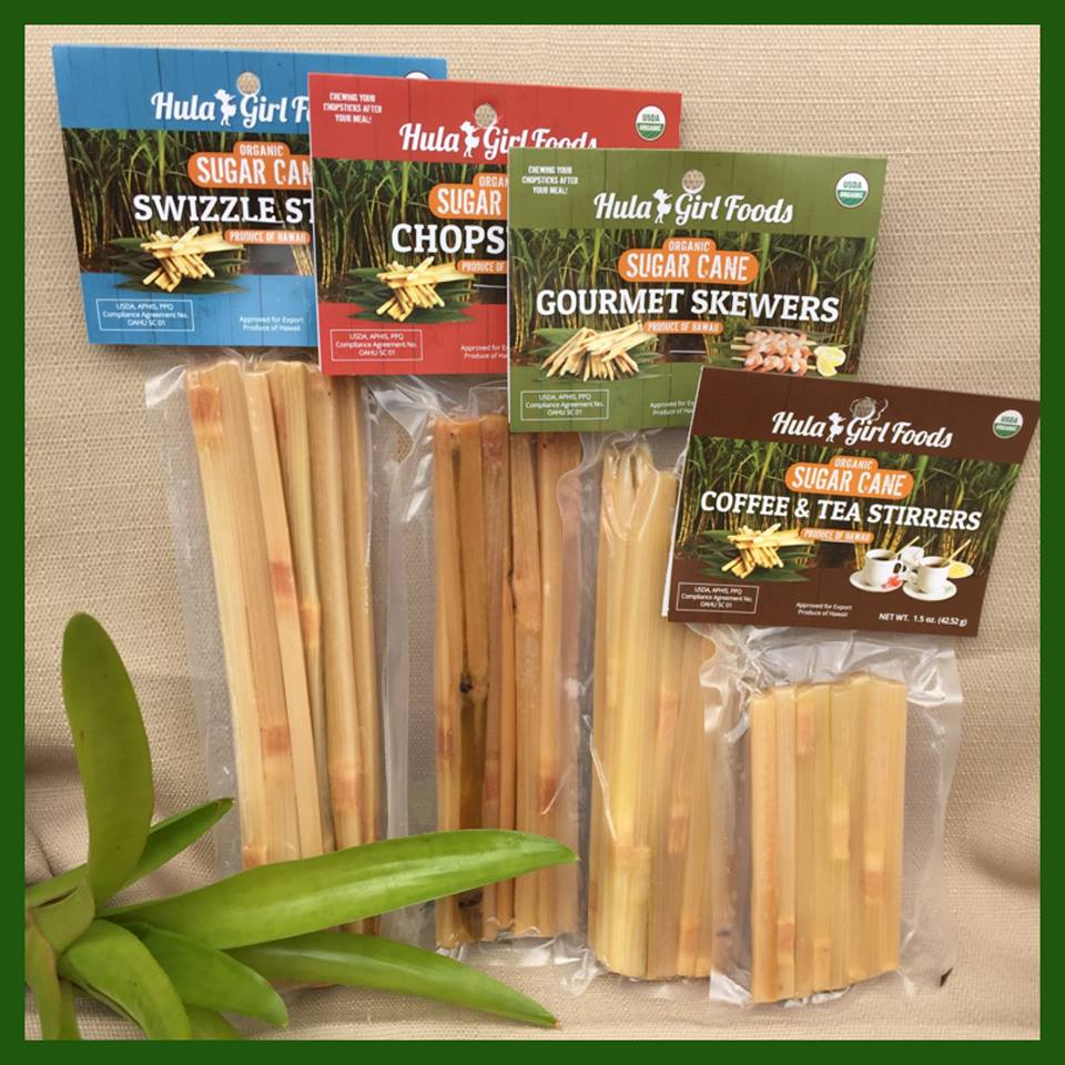 Sugar Cane Swizzle Stick Products